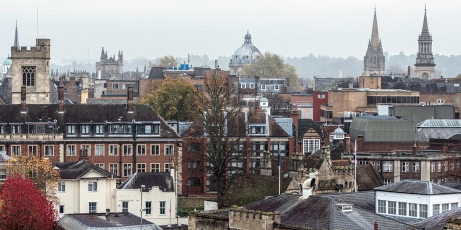 Oxford Castle Quarter Skyline